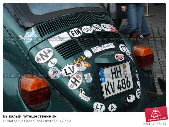 Бывалый путешественник, фото № 147167, снято 3 ноября 2007 г. (c) Екатерина Соловьева / Фотобанк Лори