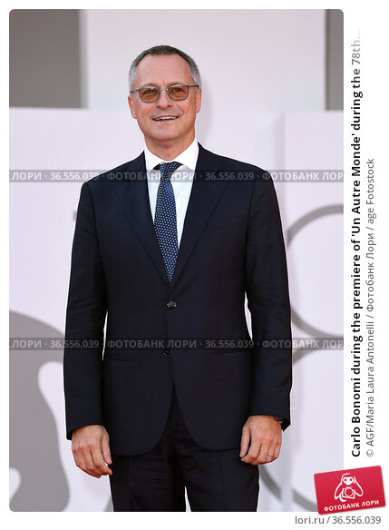 Carlo Bonomi during the premiere of 'Un Autre Monde' during the 78th... Редакционное фото, фотограф AGF/Maria Laura Antonelli / age Fotostock / Фотобанк Лори