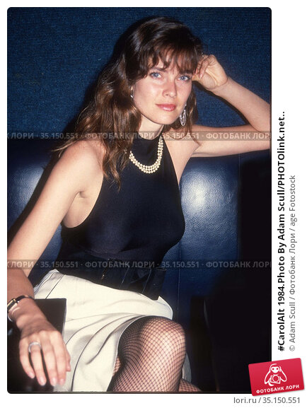 #CarolAlt 1984.Photo By Adam Scull/PHOTOlink.net.. Редакционное фото, фотограф Adam Scull / age Fotostock / Фотобанк Лори