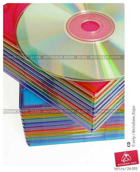 CD, фото № 24055, снято 21 февраля 2007 г. (c) only / Фотобанк Лори