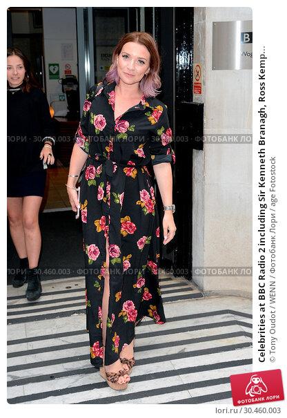 Celebrities at BBC Radio 2 including Sir Kenneth Branagh, Ross Kemp... (2017 год). Редакционное фото, фотограф Tony Oudot / WENN / age Fotostock / Фотобанк Лори