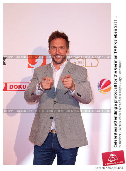 Celebrities attending a photocall for the German TV ProSieben Sat1... (2017 год). Редакционное фото, фотограф Becher / WENN.com / age Fotostock / Фотобанк Лори