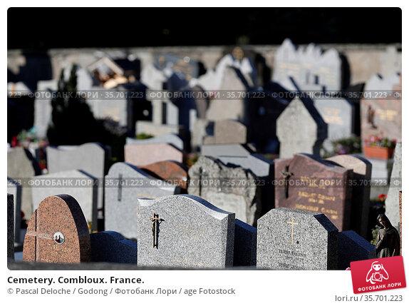 Cemetery. Combloux. France. Стоковое фото, фотограф Pascal Deloche / Godong / age Fotostock / Фотобанк Лори