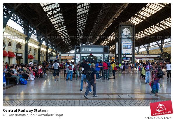 Central Railway Station, фото № 26771923, снято 10 февраля 2017 г. (c) Яков Филимонов / Фотобанк Лори