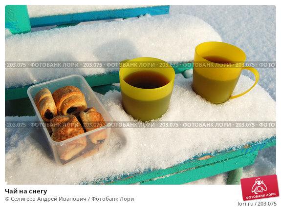 Чай на снегу, фото № 203075, снято 2 февраля 2008 г. (c) Селигеев Андрей Иванович / Фотобанк Лори