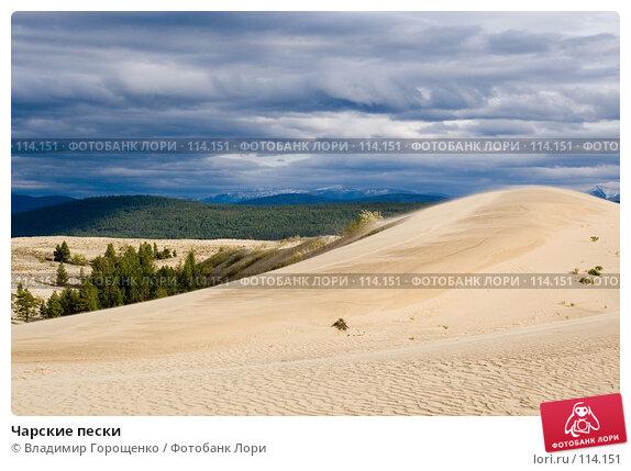 Чарские пески, фото № 114151, снято 24 августа 2006 г. (c) Владимир Горощенко / Фотобанк Лори
