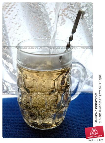 Чашка с кипятком , фото № 547, снято 28 января 2005 г. (c) Юлия Яковлева / Фотобанк Лори