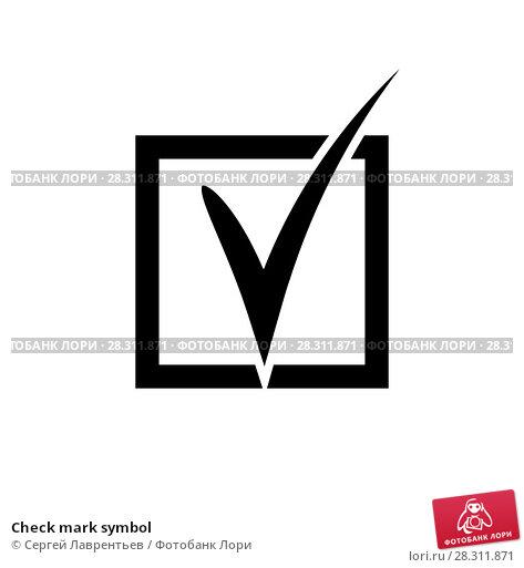 Check Mark Symbol 28311871