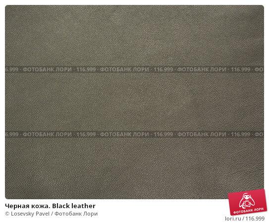 Купить «Черная кожа. Black leather», фото № 116999, снято 7 марта 2006 г. (c) Losevsky Pavel / Фотобанк Лори