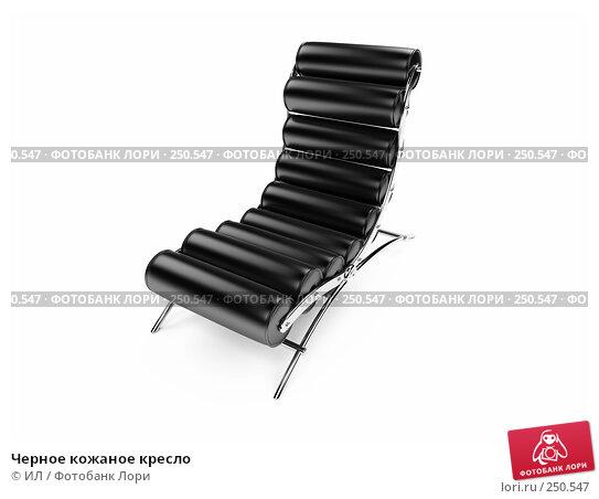 Черное кожаное кресло, иллюстрация № 250547 (c) ИЛ / Фотобанк Лори