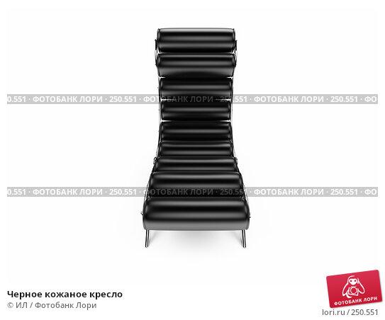 Черное кожаное кресло, иллюстрация № 250551 (c) ИЛ / Фотобанк Лори