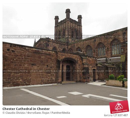 Купить «Chester Cathedral in Chester», фото № 27837487, снято 20 октября 2018 г. (c) PantherMedia / Фотобанк Лори
