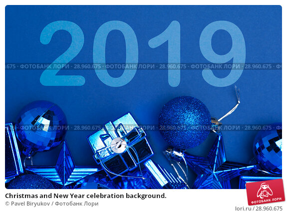 Купить «Christmas and New Year celebration background.», фото № 28960675, снято 5 января 2018 г. (c) Pavel Biryukov / Фотобанк Лори