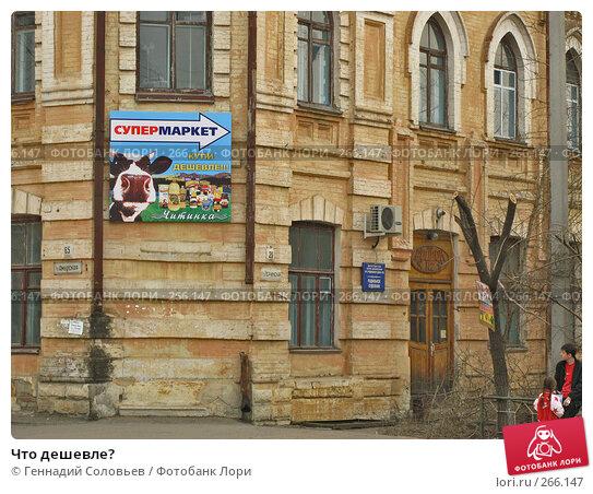 Что дешевле?, фото № 266147, снято 18 апреля 2008 г. (c) Геннадий Соловьев / Фотобанк Лори
