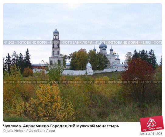 Чухлома. Авраамиево-Городецкий мужской монастырь, фото № 41903, снято 24 августа 2004 г. (c) Julia Nelson / Фотобанк Лори
