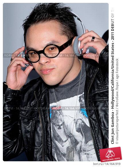 Купить «Clint Jun Gamboa - Hollywood/California/United States - 2011 DEBUT OF THE AMERICAN IDOL TOP 24 SEMI-FINALISTS», фото № 14164919, снято 24 февраля 2011 г. (c) age Fotostock / Фотобанк Лори