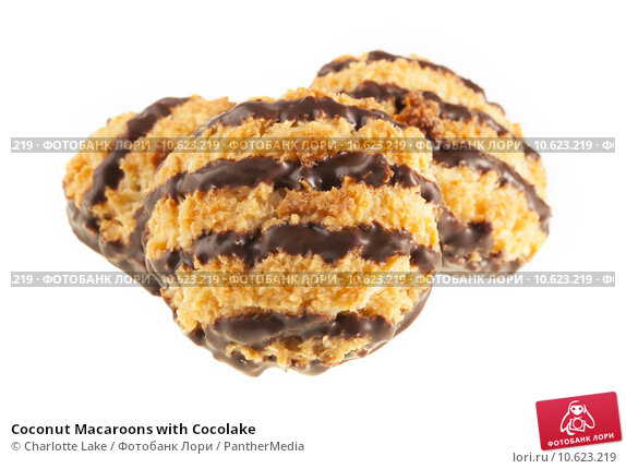 Coconut Macaroons with Cocolake. Стоковое фото, фотограф Charlotte Lake / PantherMedia / Фотобанк Лори
