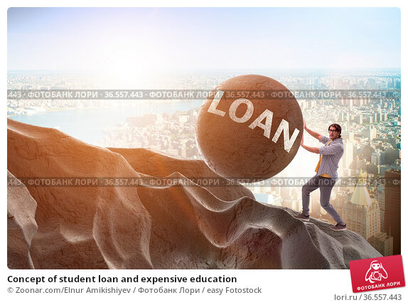 Concept of student loan and expensive education. Стоковое фото, фотограф Zoonar.com/Elnur Amikishiyev / easy Fotostock / Фотобанк Лори