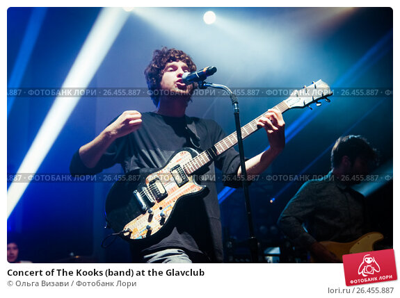 Купить «Concert of The Kooks (band) at the Glavclub», фото № 26455887, снято 26 сентября 2012 г. (c) Ольга Визави / Фотобанк Лори
