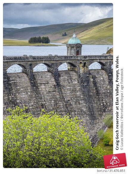Купить «Craig Goch reservoir at Elan Valley, Powys, Wales.», фото № 31470851, снято 29 января 2020 г. (c) age Fotostock / Фотобанк Лори