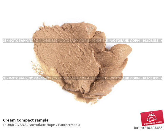 Cream Compact sample. Стоковое фото, фотограф Ufuk ZIVANA / PantherMedia / Фотобанк Лори