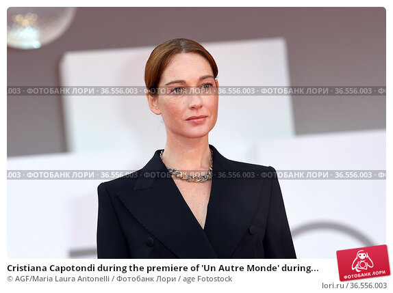 Cristiana Capotondi during the premiere of 'Un Autre Monde' during... Редакционное фото, фотограф AGF/Maria Laura Antonelli / age Fotostock / Фотобанк Лори