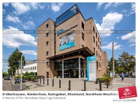 D-Oberhausen, Niederrhein, Ruhrgebiet, Rheinland, Nordrhein-Westfalen, NRW, Krankenhaus, EKO, Evangelisches Krankenhaus Oberhausen der Ategris. Стоковое фото, фотограф Werner OTTO / age Fotostock / Фотобанк Лори