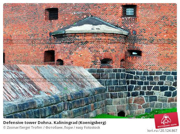Купить «Defensive tower Dohna. Kaliningrad (Koenigsberg)», фото № 20124867, снято 21 марта 2019 г. (c) easy Fotostock / Фотобанк Лори