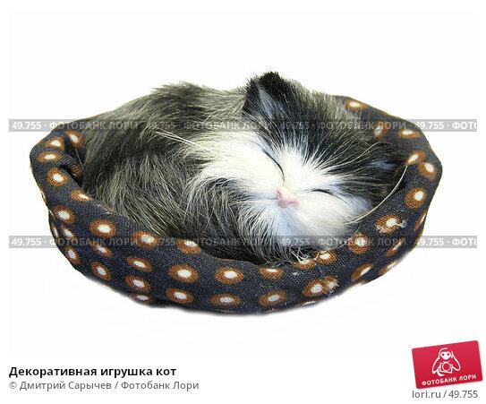 Декоративная игрушка кот, фото № 49755, снято 5 мая 2005 г. (c) Дмитрий Сарычев / Фотобанк Лори