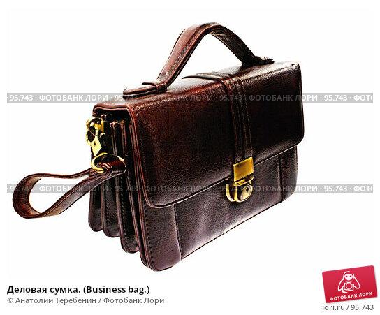 Деловая сумка. (Business bag.), фото № 95743, снято 6 октября 2007 г. (c) Анатолий Теребенин / Фотобанк Лори
