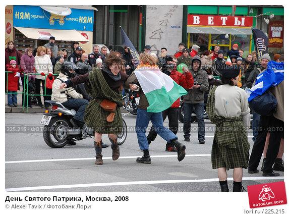 День Святого Патрика, Москва, 2008, эксклюзивное фото № 225215, снято 16 марта 2008 г. (c) Alexei Tavix / Фотобанк Лори