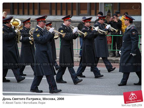 День Святого Патрика, Москва, 2008, эксклюзивное фото № 225219, снято 16 марта 2008 г. (c) Alexei Tavix / Фотобанк Лори