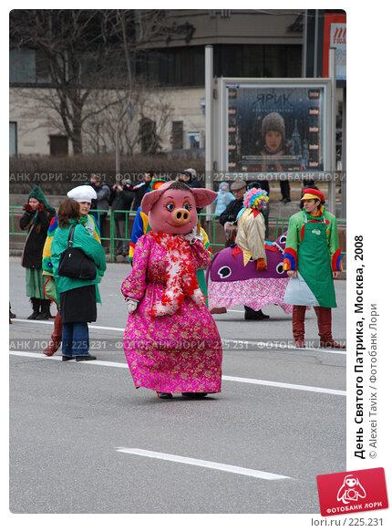 День Святого Патрика, Москва, 2008, эксклюзивное фото № 225231, снято 16 марта 2008 г. (c) Alexei Tavix / Фотобанк Лори