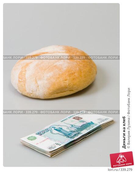 Купить «Деньги на хлеб», фото № 339279, снято 28 июня 2008 г. (c) Валерия Потапова / Фотобанк Лори