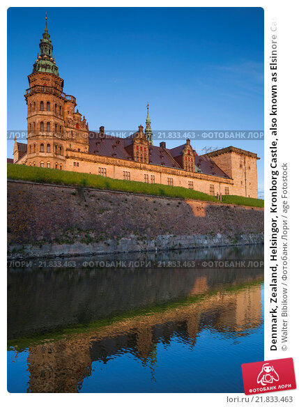Купить «Denmark, Zealand, Helsingor, Kronborg Castle, also known as Elsinore Castle, from Shakespeare's Hamlet.», фото № 21833463, снято 8 мая 2015 г. (c) age Fotostock / Фотобанк Лори