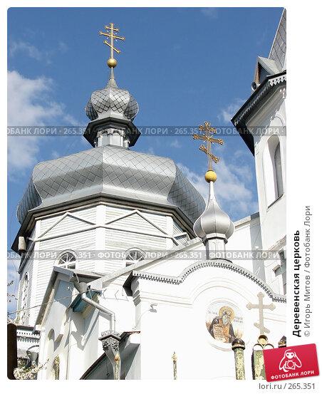 Деревенская церковь, фото № 265351, снято 27 апреля 2008 г. (c) Игорь Митов / Фотобанк Лори