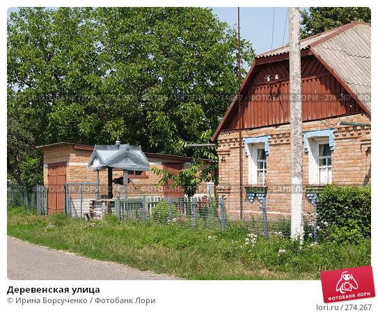 Купить «Деревенская улица», фото № 274267, снято 17 июня 2007 г. (c) Ирина Борсученко / Фотобанк Лори