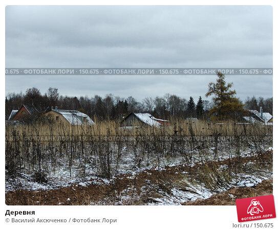 Деревня, фото № 150675, снято 14 января 2004 г. (c) Василий Аксюченко / Фотобанк Лори