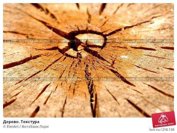 Дерево. Текстура, фото № 218139, снято 29 марта 2017 г. (c) ElenArt / Фотобанк Лори