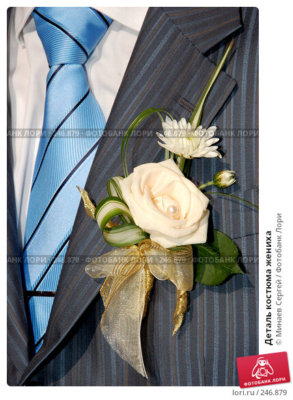 Деталь костюма жениха, фото № 246879, снято 8 сентября 2007 г. (c) Минаев Сергей / Фотобанк Лори