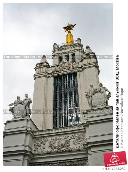 Детали оформления павильонов ВВЦ. Москва, фото № 243239, снято 16 марта 2008 г. (c) Николай Коржов / Фотобанк Лори