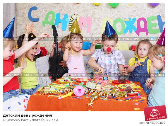 Детский день рождения, фото № 5729027, снято 16 мая 2013 г. (c) Losevsky Pavel / Фотобанк Лори