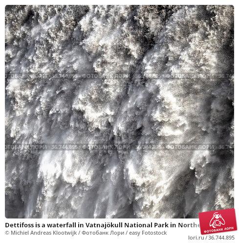 Dettifoss is a waterfall in Vatnajökull National Park in Northeast... Стоковое фото, фотограф Michiel Andreas Klootwijk / easy Fotostock / Фотобанк Лори