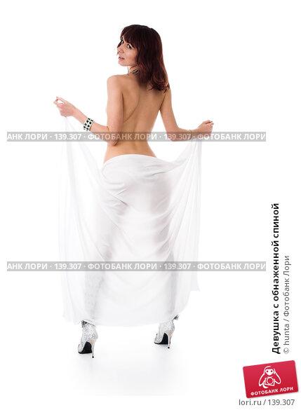 Девушка с обнаженной спиной, фото № 139307, снято 12 августа 2007 г. (c) hunta / Фотобанк Лори