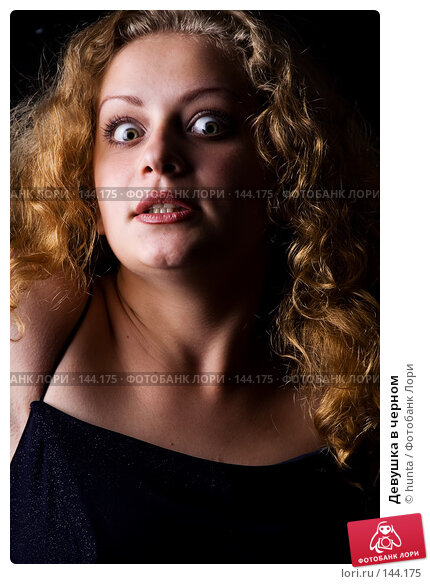 Девушка в черном, фото № 144175, снято 17 июля 2007 г. (c) hunta / Фотобанк Лори