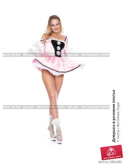 Купить «Девушка в розовом платье», фото № 254243, снято 13 февраля 2008 г. (c) hunta / Фотобанк Лори