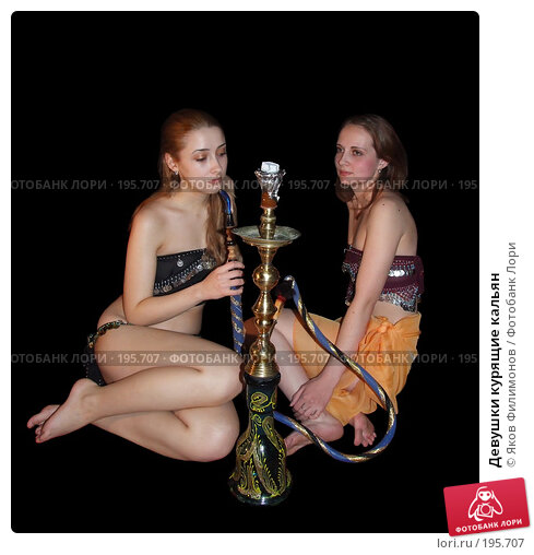 Девушки курящие кальян, фото № 195707, снято 2 февраля 2008 г. (c) Яков Филимонов / Фотобанк Лори