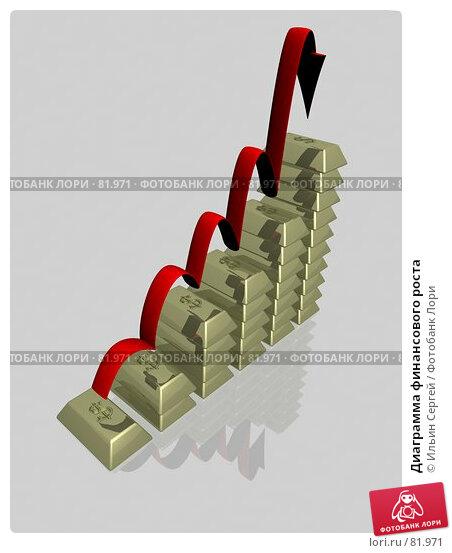 Купить «Диаграмма финансового роста», иллюстрация № 81971 (c) Ильин Сергей / Фотобанк Лори