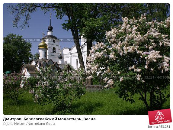 Дмитров. Борисоглебский монастырь. Весна, фото № 53231, снято 27 мая 2007 г. (c) Julia Nelson / Фотобанк Лори