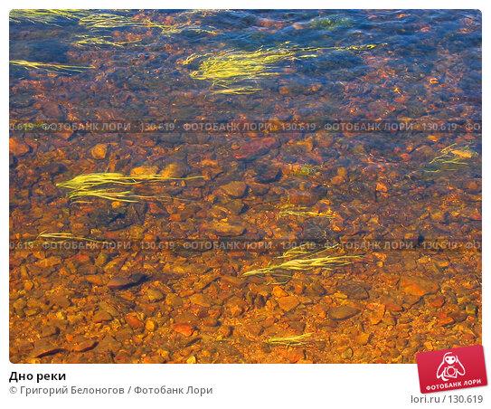 Дно реки, фото № 130619, снято 7 сентября 2003 г. (c) Григорий Белоногов / Фотобанк Лори